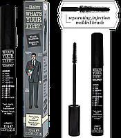 The Balm Mascara What's Your Type Mascara Tall Dark & Handsome-Black - Тушь для ресниц, 10 мл