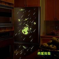 Светящиеся наклейки на потолок 061