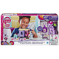 Игровой набор оригинал Hasbro My Little Pony Explore Equestria Поезд Дружбы Friendship Express Train B5363