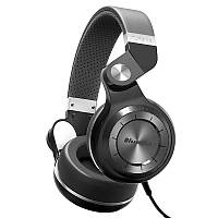 Наушники (гарнитура) Bluedio T2+ Plus. FM, MicroSD. Black