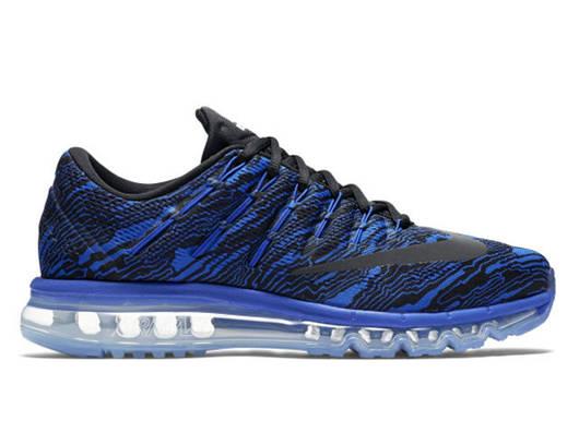 Мужские кроссовки  Nike Air Max 2016 Print Blue/Black