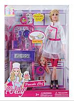 Кукла Barbie (Барби) и сестра Челси с кухней. 2 куклы с набором аксессуаров! Барби коллекционная серия., фото 1