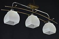 Люстра потолочная на 3 лампы