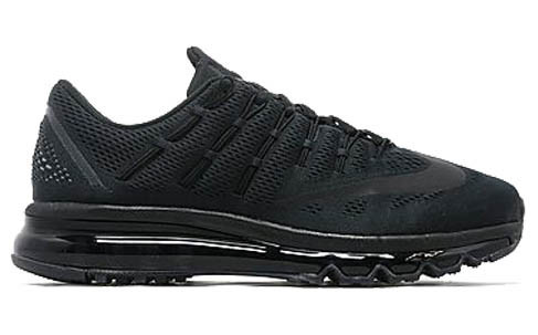 Мужские кроссовки  Nike Air Max 2016 Triple Black