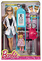 Кукла Барби Окулист Я хочу быть Barbie Careers Eye Doctor Playset CMF42, фото 1