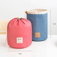 Органайзер для косметики (нежно-голубой, голубой, нежно-розовый)