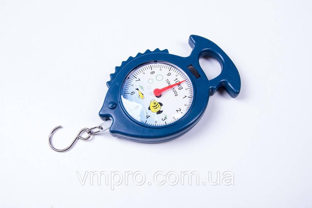 Кантеры/безмены механические весы рыбка10 кг.