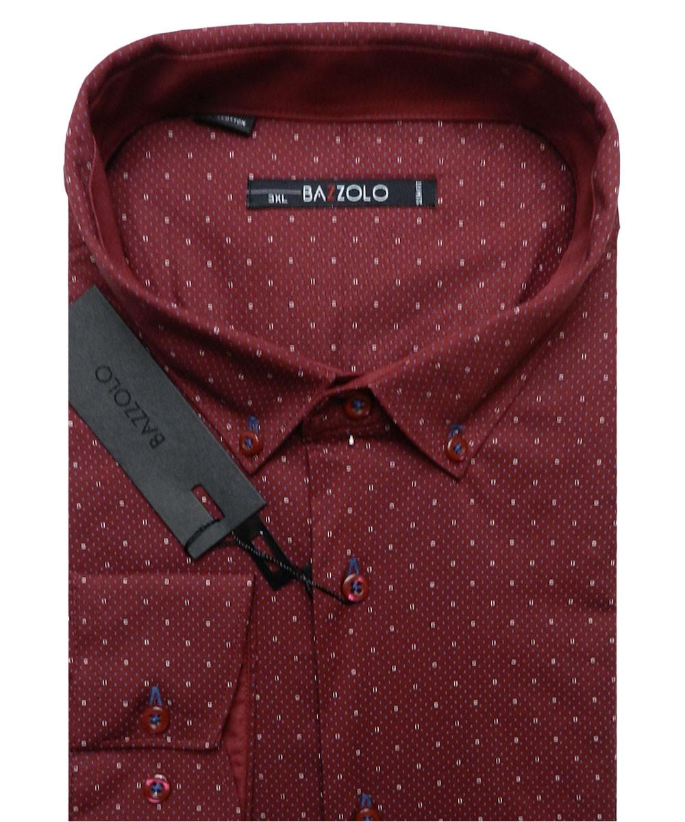 Рубашка мужская Bazzolo SKY-1472