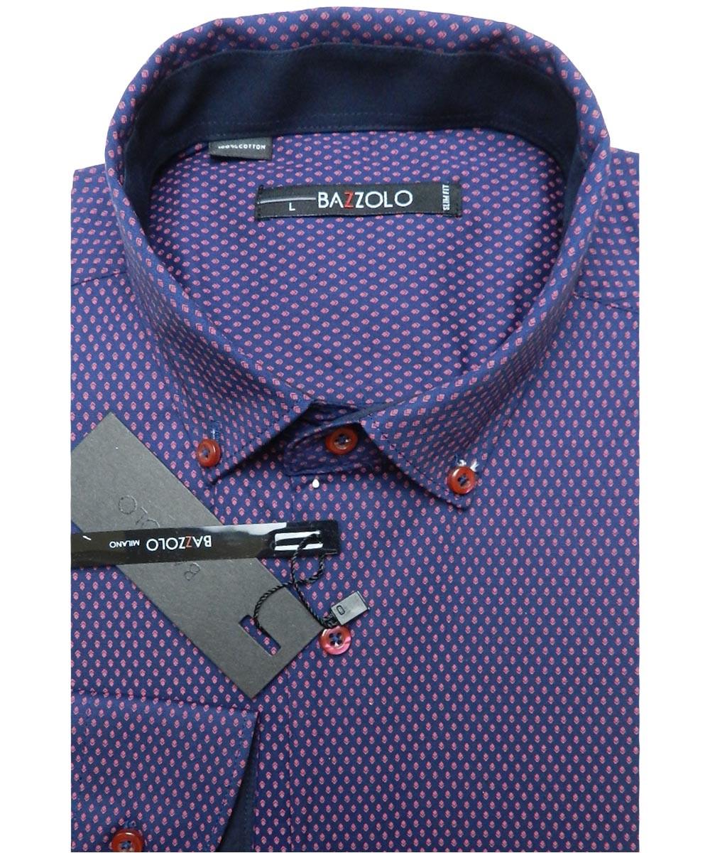 Рубашка мужская Bazzolo SKY-1477