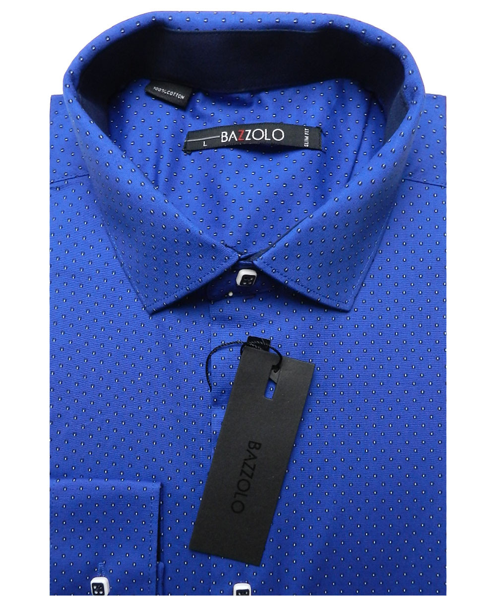 Рубашка мужская Bazzolo SKY-1526