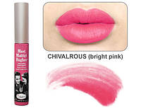 The Balm Meet Matte Hughes Chivalrous-Bright Pink - Жидкая матовая помада, 7.4 мл