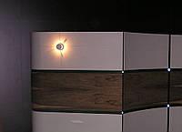 Отделка стен шпонированными панелями