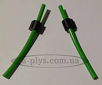 Сторожок силиконовый для блеснения зеленый / Levsha
