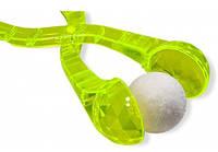 Снежколеп  большой Сталекс прозрачный малиновый и салатовый, фото 1