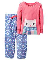 """Пижама для девочки 2в1 Carter's """"Приятных снов"""" р.2Т, 3Т, 4Т"""