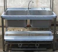 Ванна моечная с педальным управлением