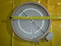 ТЭН 2100 Вт. / 230 В / Ф-230мм. на стеклокерамические плиты с ленточной спиралью для всех марок . Турция .