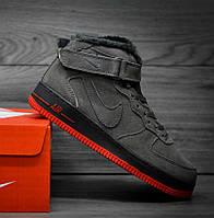 "Nike Air Force 1 High Vt ""Grey/Anthracite Orange"""