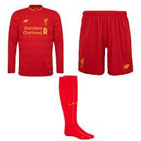Форма футбольная с длинным рукавом  New Balance  Liverpool 2016-17