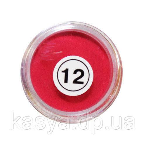 Акрилова пудра My Nail №12 (червона), 2 г