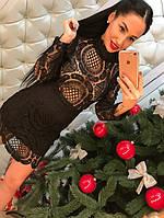 Шикарное платье из дорогого кружева, фото 1