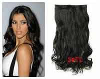Волосы на заколках тресс затылочный волна №2