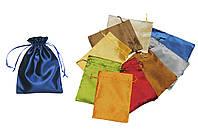 Мешочек для карт Таро Синий, сатин, фото 1