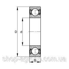 Подшипник СПЗ-4 6-180101С17, 6001.2RS, фото 2