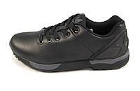 Кроссовки мужские  ADIDAS ZX FLUX кожаные, черные  (адидас флюкс)(р.41,42,44,46)