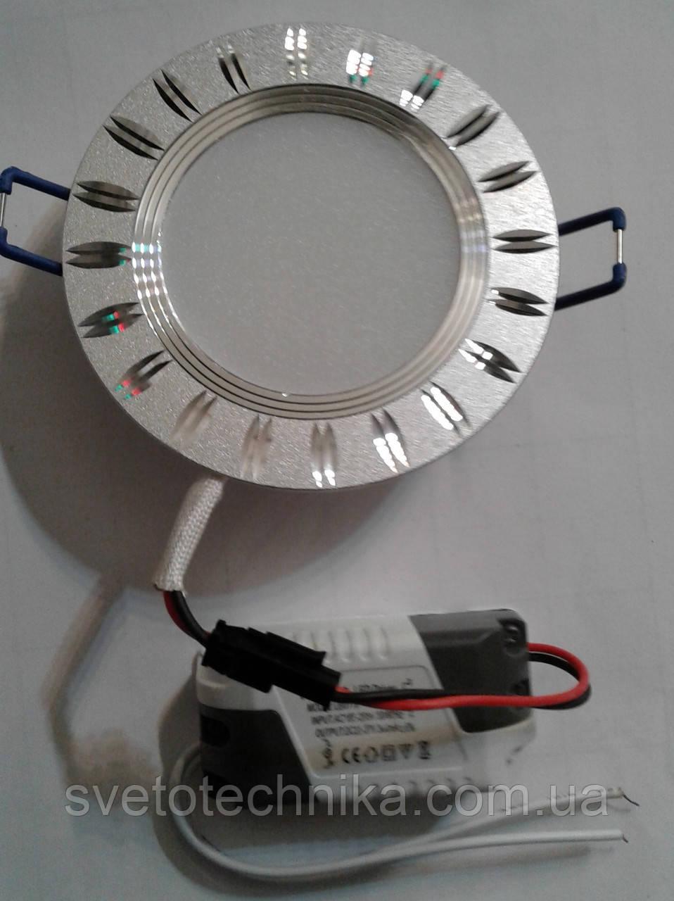 Светодиодный светильник Feron AL779 5W 4000К (корпус -черный)