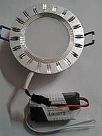 Светодиодный светильник Feron AL779 5W 4000К (корпус -серебряный)