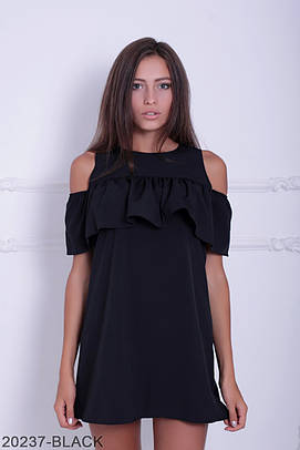Молодіжне біле чорне плаття Penny
