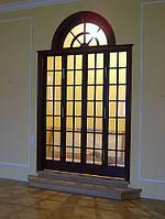 Деревянные двери и окна от производителя