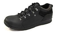 Туфли мужские  STEP WEY кожаные, черные (р.41)