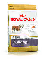 Royal Canin Bulldog Adult - корм для собак породы английский бульдог с 12 месяцев 3 кг