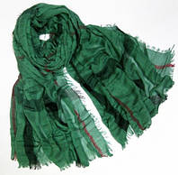 Эффектный женский шарф в стиле Burberry 200 на 100 dress 654_зелен