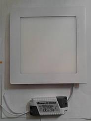 Светодиодная панель ECOSTRUM 12W 4100K (встроенный квадрат)