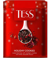 Чай Tess Holiday Cookies (Тесс) ж/б 125г.