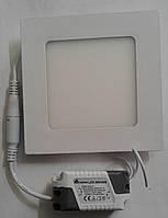 Светодиодная панель ECOSTRUM 6W 4100K (встроенный квадрат)