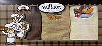 Набор кухонных махровых полотенец Хлебушек