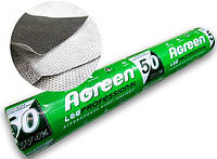 Агроволокно черно белое  ширина 1,07 м 50 г/м Agreen