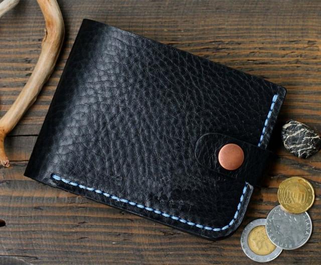 """Чоловічий гаманець """"Wallet"""" ручної роботи"""