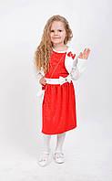 Праздничное детское платье с сумочкой и болеро