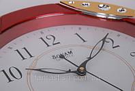 Часы настенные Sonam quartz 4977, кварцевые, диаметр 31 см XKC /57, фото 1