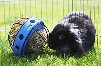 Savic БАННИ КОЛЕСО (Bunny Toy) кормушка для сена и лакомств для грызунов, 19,5Х18Х12см.