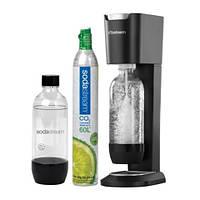 Сифон для газирования воды Sodastream Genesis titan/silver