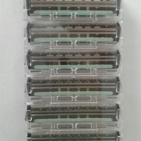Кассеты для бритья мужские Schick FX (Шик FX ) 6 шт.