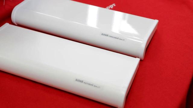 Подоконник белый матовый и глянцевый Пластолит фото Тепловик интернет магазин