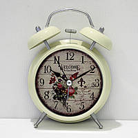 Часы-будильник «Прованс» с подсветкой