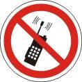 Знаки и таблички безопасности Запрещено пользоваться мобильными устройствами связи (телефоном)